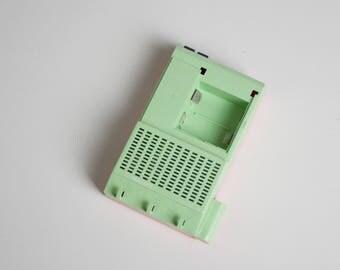 Ukranian Plastic Doorbell - Oktava 2, Ukranian Electronic Doorbell, Pastel Green and Salmon Pink