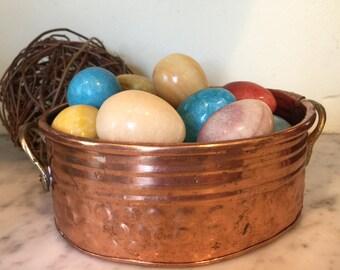 Copper Brass Mini Planter Dish Bowl
