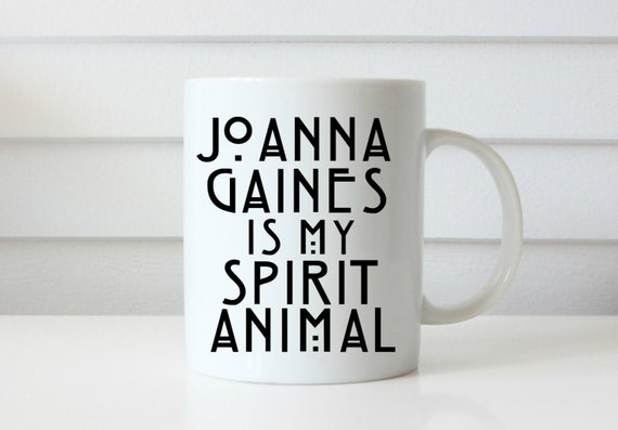 Joanna gaines spirit animal coffee mug spirit animal mug custom vinyl coffee cup spirit animal coffee cup