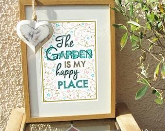 Garden Lover Art Print