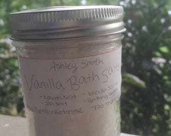Vanilla Bath Salts