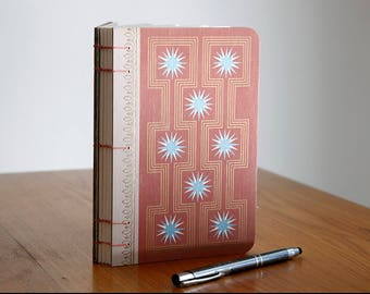 Coptic Journal with Vintage Book covers