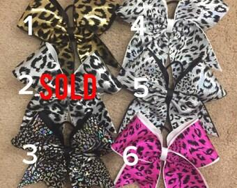 Sale bows - animal prints