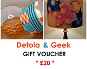 Gift Voucher Fathers Day Gift gift Idea Last Minute Gift Birthday surprise Baby shower Gift New Home Gift Idea Detola And Geek