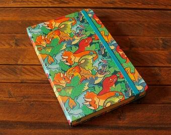 Patterned A5 Sketchbook - Dinosaurs