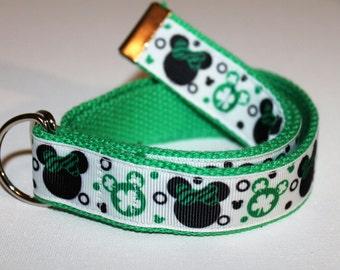 Children's Mickey St.Patricks Day Belt