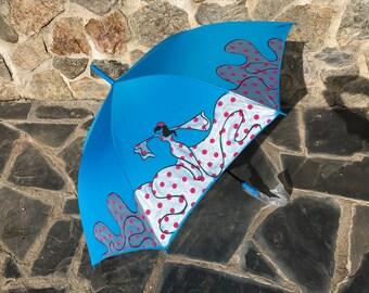 Paraguas Flamenca Manuela