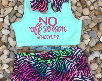 cheerlife sports bra set