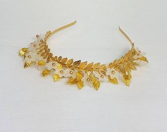 Fairy Woodland Gold Tiara