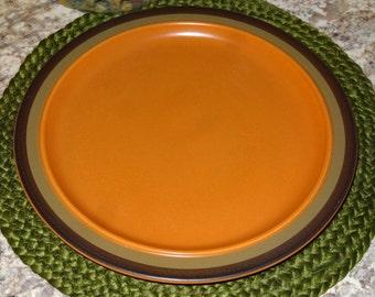 Arrowstone Cherokee Chop Plate / Cherokee Stoneware Chop Plate / Stoneware Chop Plate / Large Plate / Kasuga / Arrowstone Chop Plate