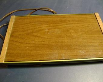 Vintage Warming Tray Electric Food Tray Retro