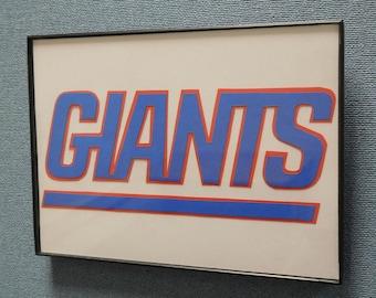 New York Giants Wall Art