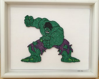 The Incredible Hulk - Quilled Art