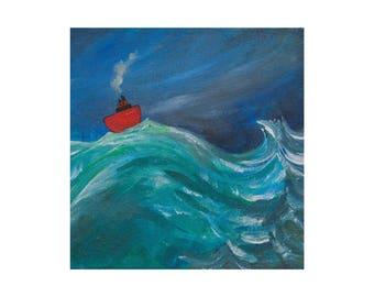 Rough Seas Print