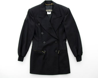 Vintage Jacket // Escada Black Blazer