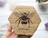 Bumblebee Wooden Trinket / Jewellery Box