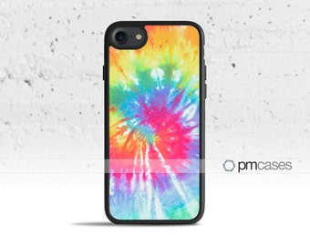 Groovy Tie Dye Case Cover for Apple iPod Touch & iPhone 4/4s/5/5s/5c/6/6s/7/Plus/SE