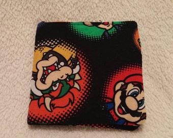 Mario wallet, bi-fold wallet, wallet
