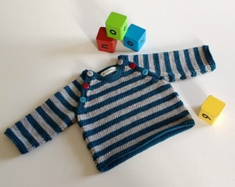 Knitting Pattern for Toby Jumper
