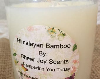 HimalayanBamboo,Summer Candle Sale,Soy Candle,Wax Melt,Votive,Wickless Candle,Shaped WaxMelt,Wedding Favors,Scented,4th of July