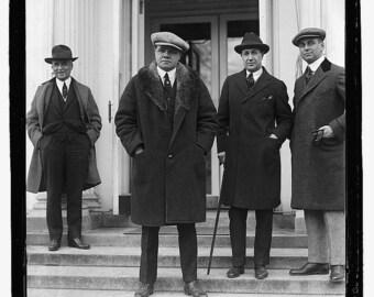 Babe Ruth at White House, 1921, Washington D.C.