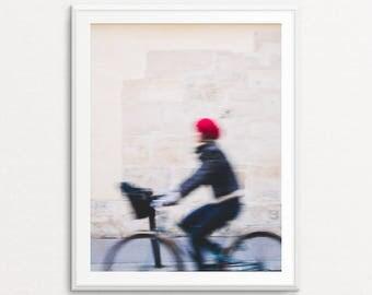 Paris Photography, Paris Bicycle Print, Paris Print, Paris Decor, Paris Bedroom Decor, Paris Street Photography, Paris Wall Art