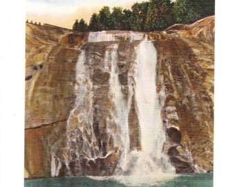 Toxaway Falls North Carolina Vintage Postcard (unused)
