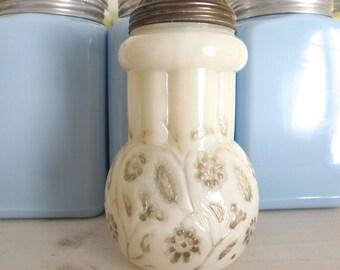 1889 Antique Findlay Onyx Sugar Shaker