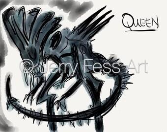 Queen from Aliens