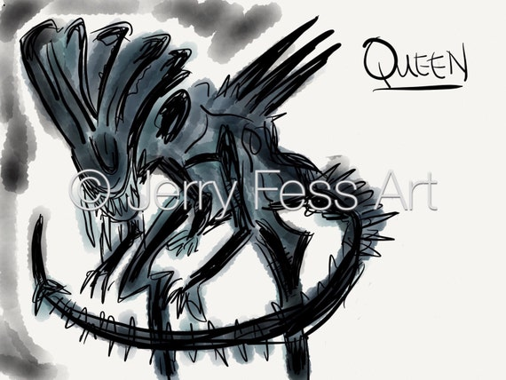 Queen from Aliens