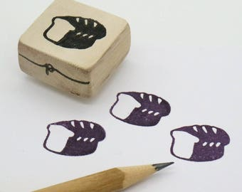 Bread Loaf rubber stamp