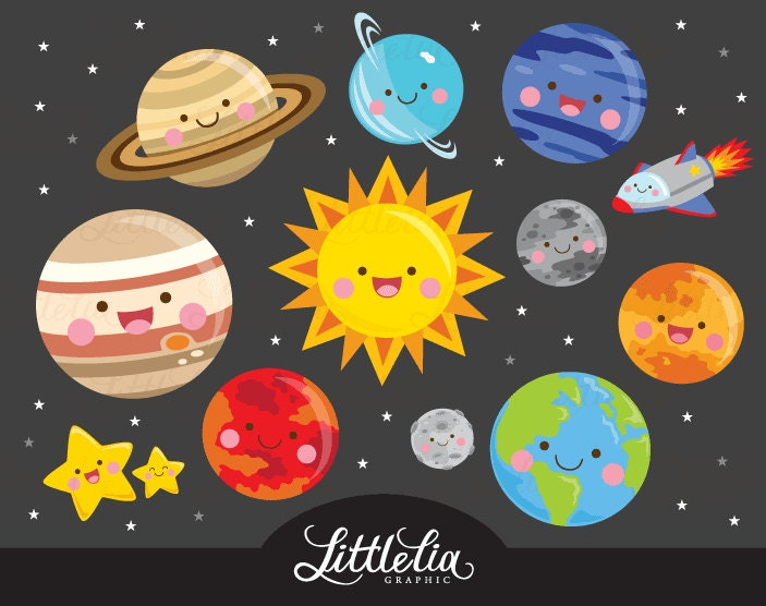 solar system clipart - photo #7
