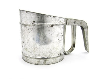 Vintage 1950s Foley Flour Sifter Kitchen Tool