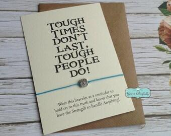SALE Friendship Bracelet, Tough Times, Square Wish Bracelet, Courage Bracelet,Strength Bracelet, Zen Jewellery, Zen Bracelet, Graduation Gif