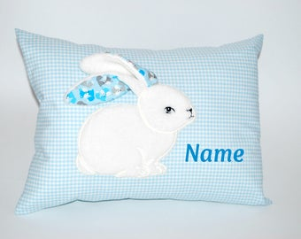 Baby Pillow with Bunny