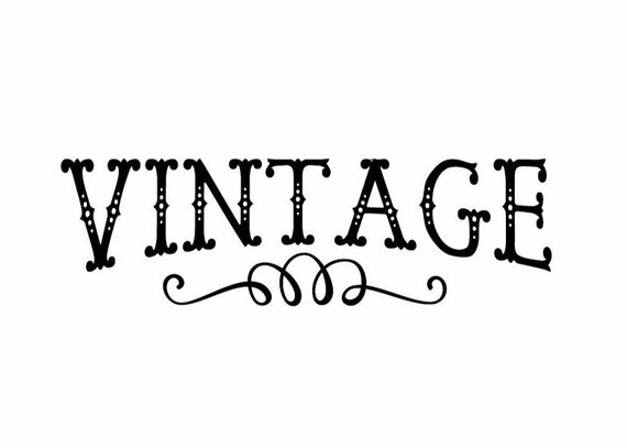 Vintage Decal Diy Vintage Decal Glass Lettering Wall