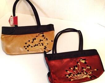 Purse Small Handbag Floral