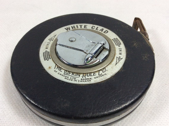 Vintage Measuring Tape Surveyors Tape Engineer Students