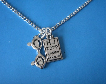 Opticians Necklace Gift for an Optician Graduation Gift Optician Jewellery