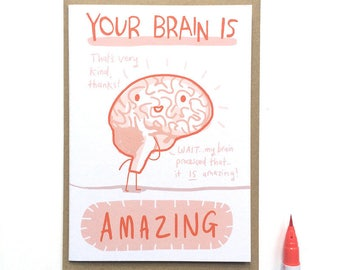 SALE! Amazing Brain Card