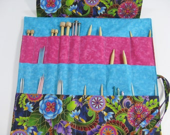 Knitting Needle Organizer, Circular Knitting Needle Case, Knitting Needle Case