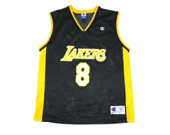 Vintage Champion NBA Lakers Kobe Bryant Jersey