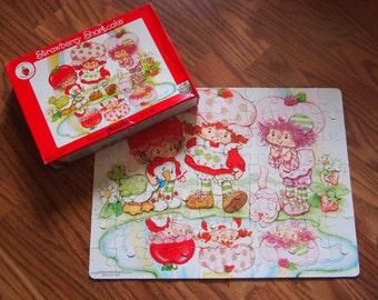 Strawberry Shortcake 70 piece vintage puzzle