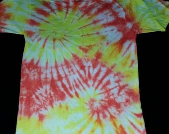 Double Spiral Tie Dye T-Shirt