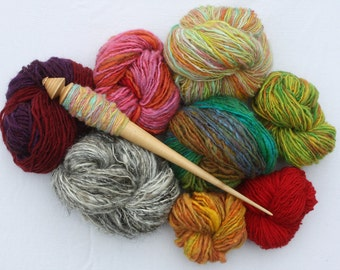 Handspun Yarn * made to order with Russian Spindle