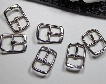 6 buckles 12mm, strap buckles, shoe buckle