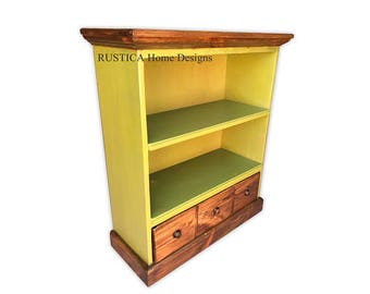 """Apothecary 29"""" Rustic Cabinet Vintage Green"""