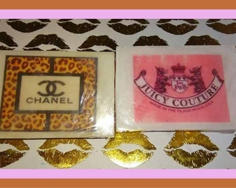 Custom Designer Soap Juicy couture chanel