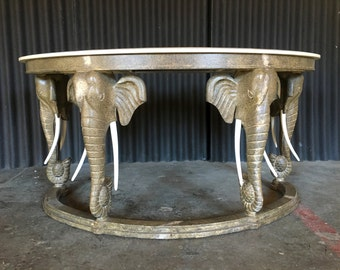 Maitland Smith style Elephant Writing Desk