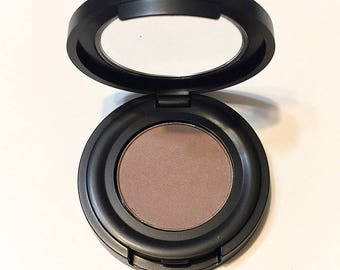 TIPPY TAUPE Natural Mineral Eye BROW Powder - Organic Gluten Free Vegan Makeup - Botanical Plant Therapy